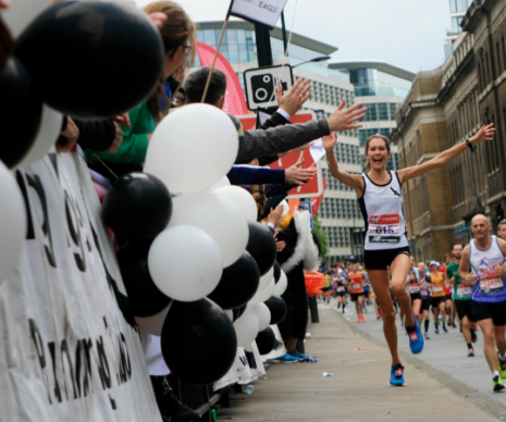 Fuelling and Refuelling Free From - A long distance runner